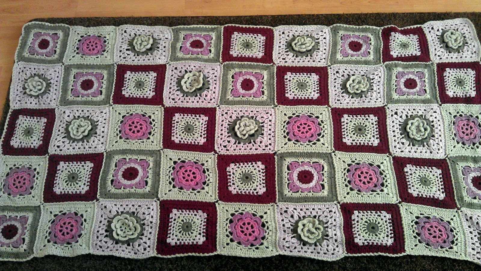 Crocheted Blanket From Karisma