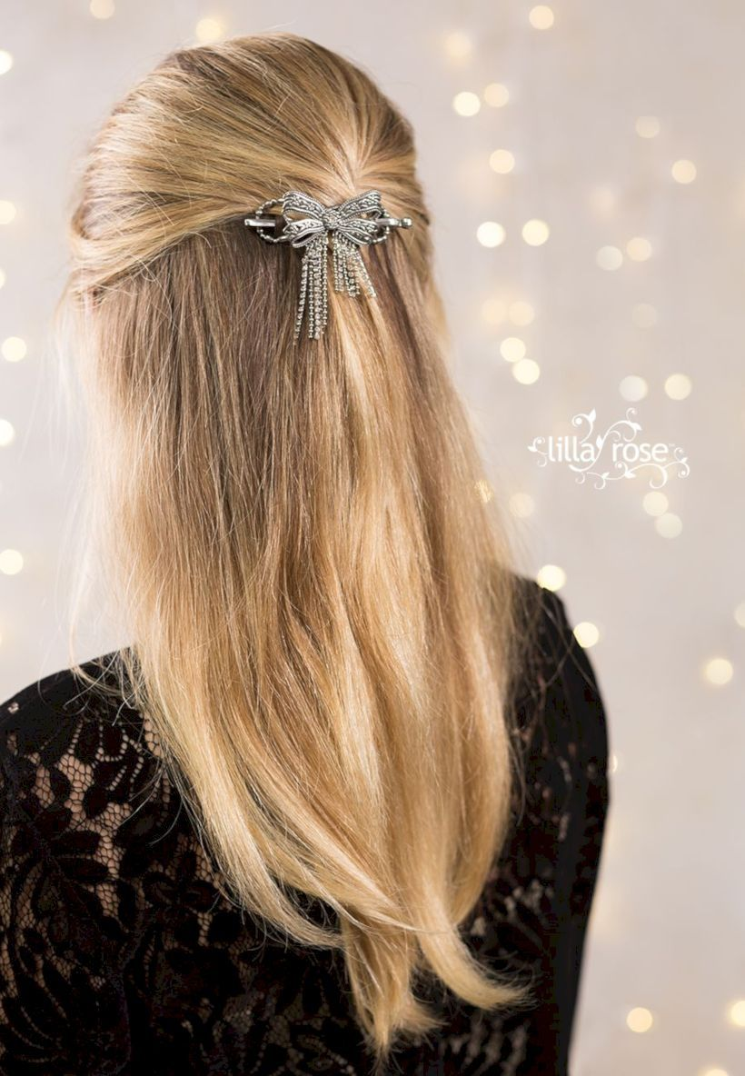 39 easy but cute long hairstyle for valentine party