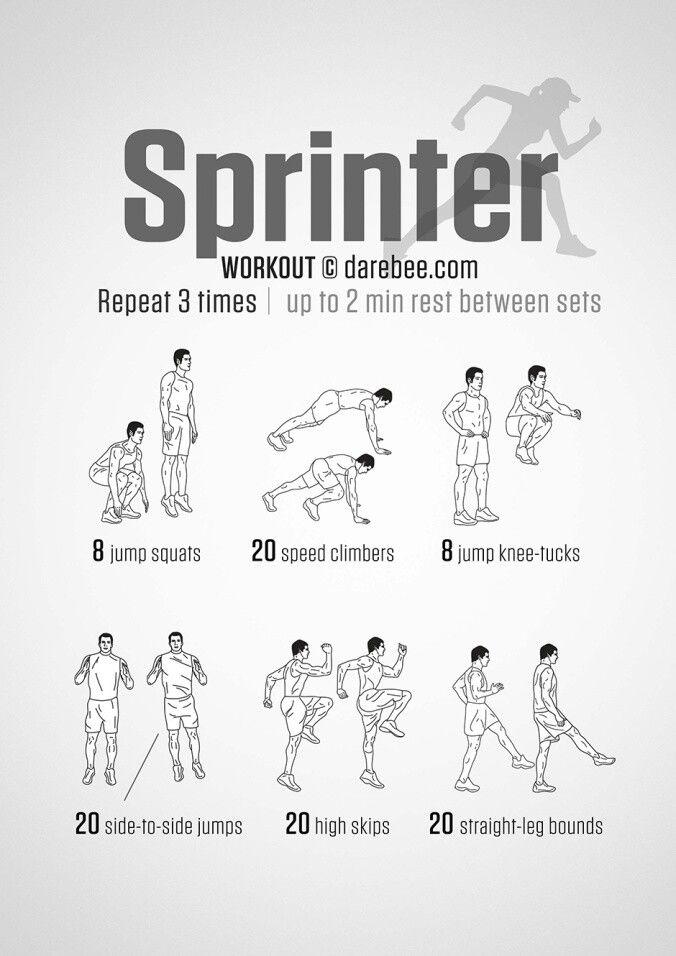 Sprinting routine
