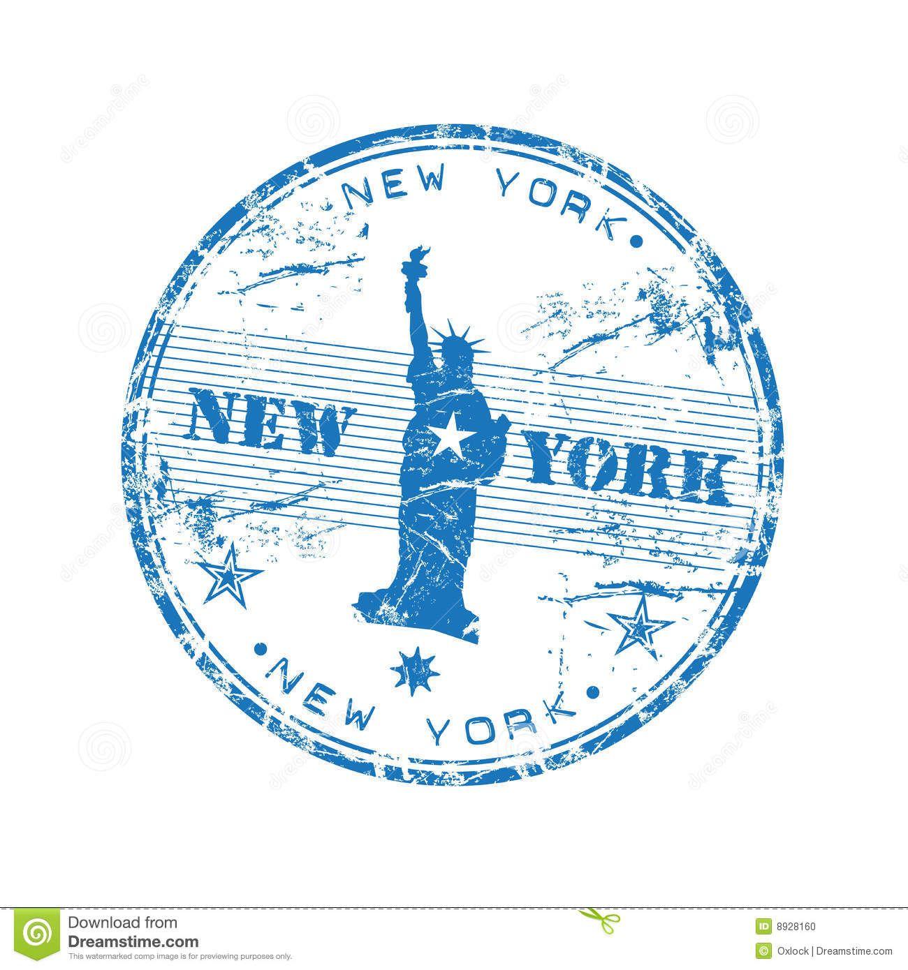 New York Passport Stamp