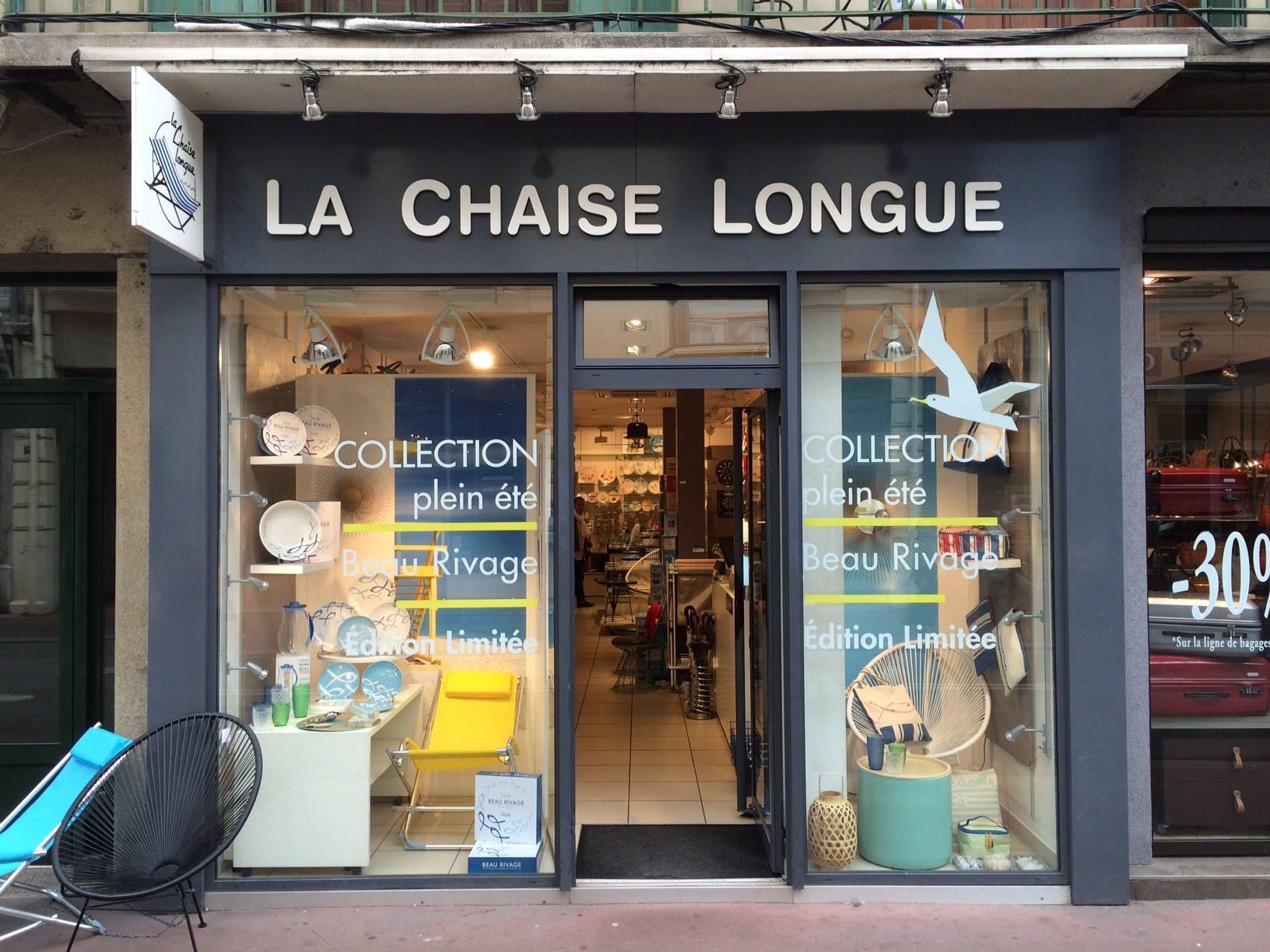 Boutique la chaise longue annecy beau rivage vitrines pinterest - La chaise longue boutique ...