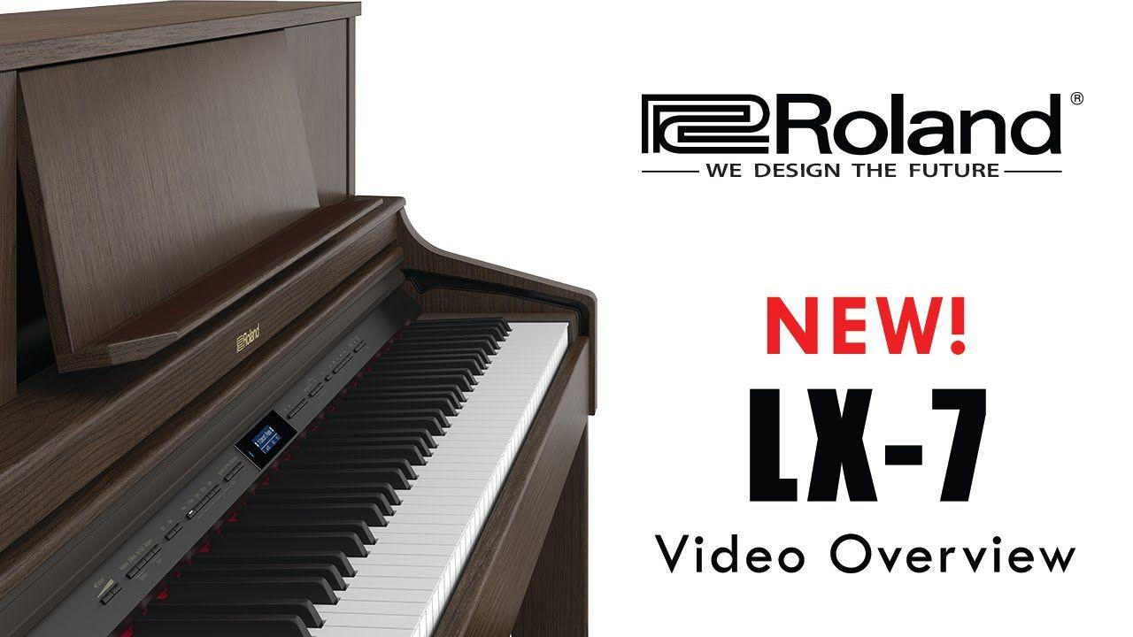 lx 7 roland digital piano new 2016 roland lx7 digitalpianos roland digital piano piano. Black Bedroom Furniture Sets. Home Design Ideas