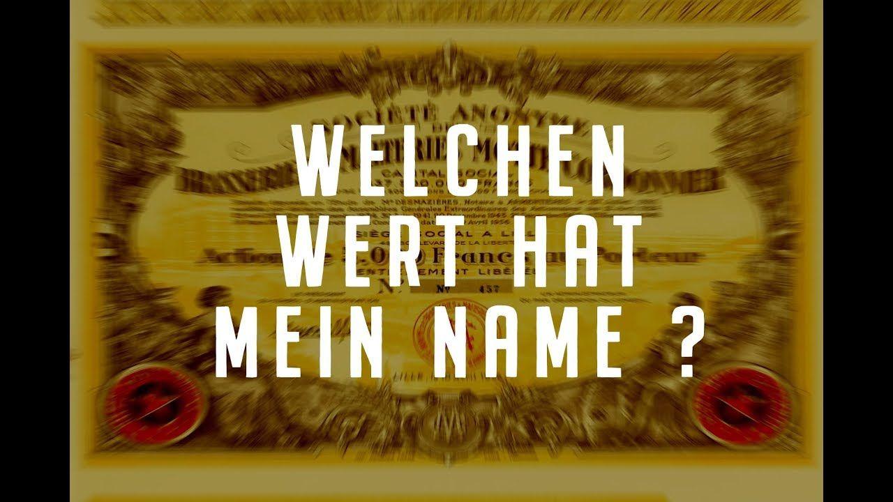 Welchen Wert Hat Mein Name Heike Werding Geburtsname Mein Name Namen