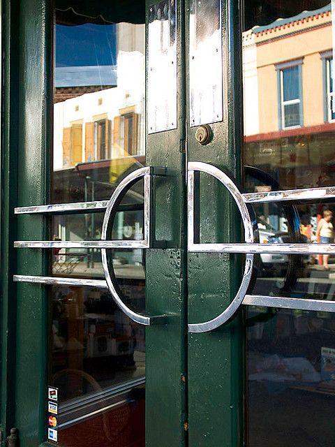 Art Deco Reflection Art Deco Door Door Handle Design Door Handles