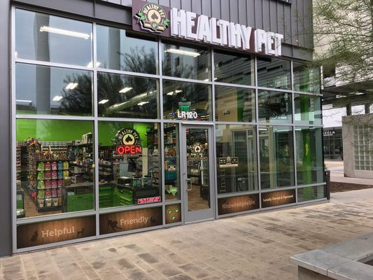 Healthy Pet Now Has Its 3rd Location In Downtown Austin In The Seaholm Power Plant Complex Healthy Pets Holistic Pet Pet Supply Stores