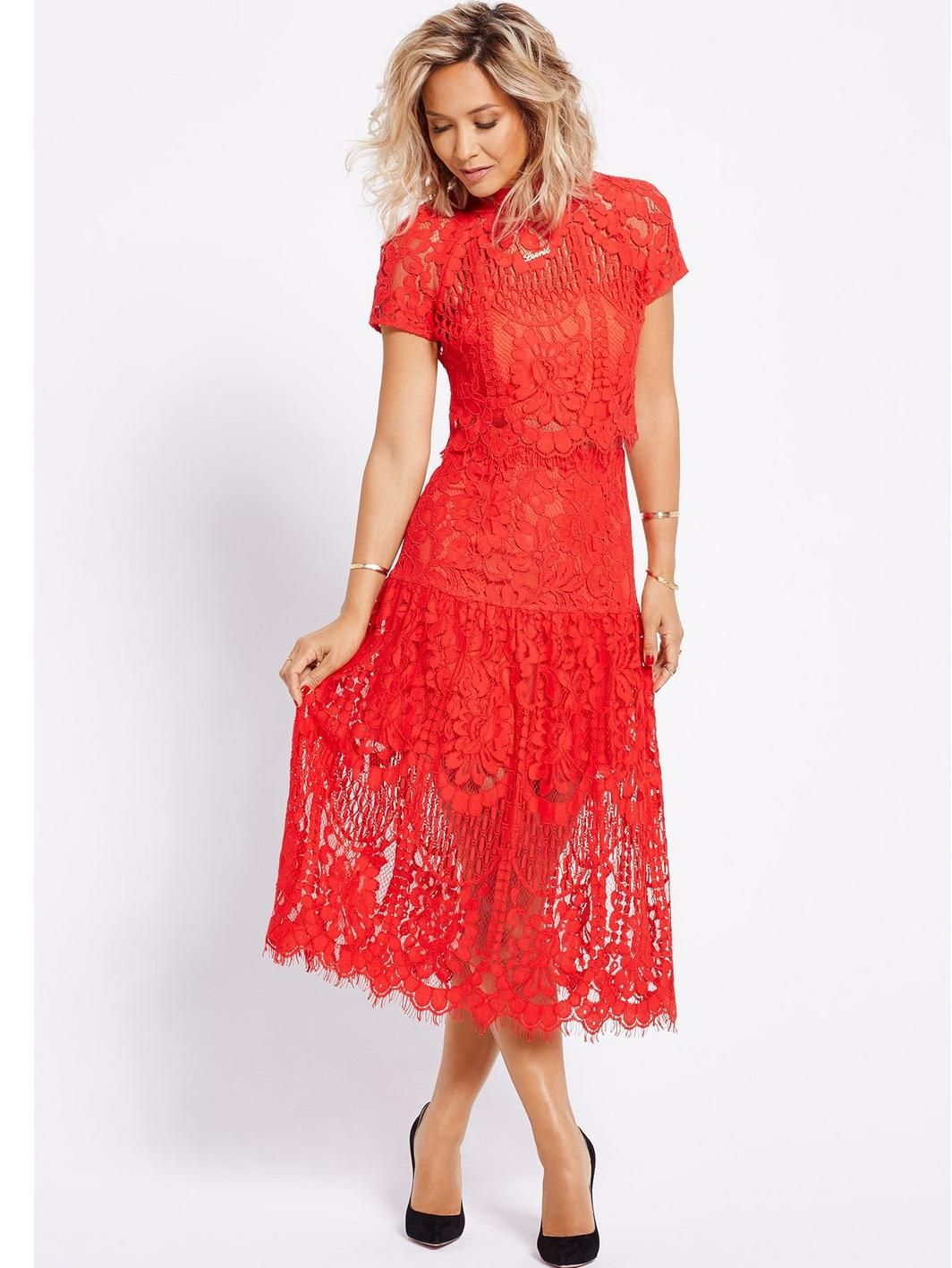 Littlewoods Ireland | Online Shopping | Fashion & Homeware. Lace Midi  DressDress RedFancy DressWomen's ...