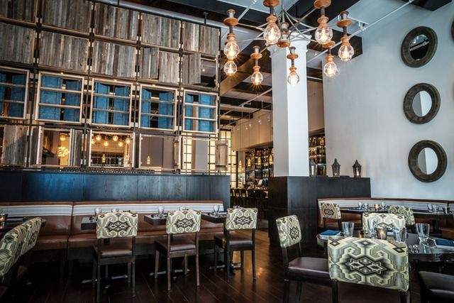 Inside raymi the new modern peruvian restaurant from
