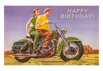 Happy Birthday Motor Icoon