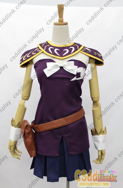 Fairy Tail Lucy Heartfilia Cosplay Costume purple version ...
