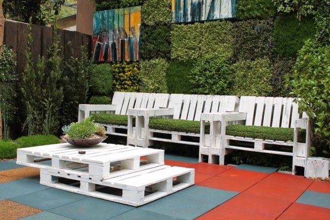 Palettenmöbel selber bauen - 28 kreative Ideen & Inspirationen ...