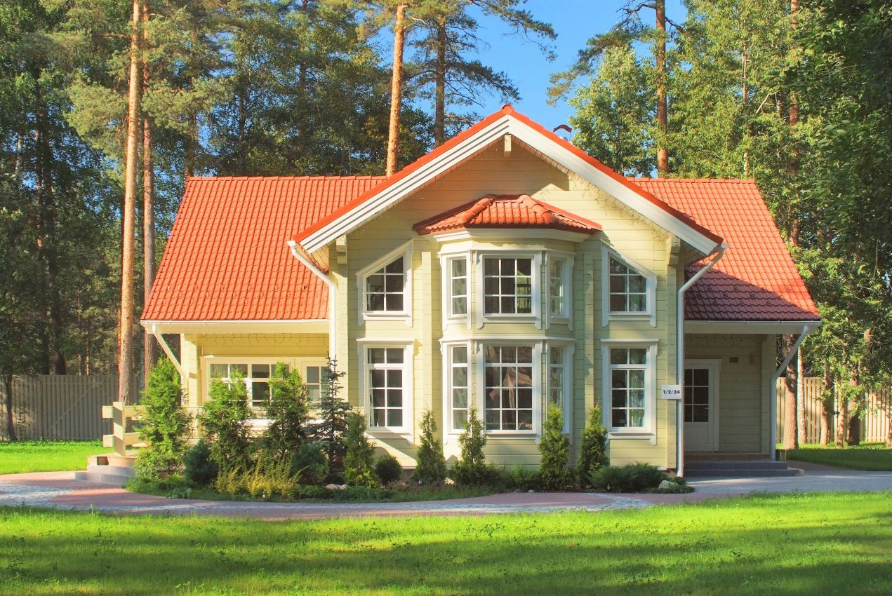 Villa lappi wooden house from finland provided rovaniemi log house