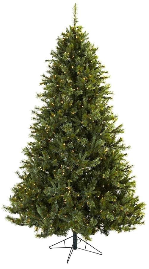 Nearly Natural nearly natural 7 1/2-ft. Majestic Pine Pre-Lit Artificial Christmas  Tree - Indoor - Nearly Natural 7 1/2-ft. Majestic Pine Pre-Lit Artificial Christmas