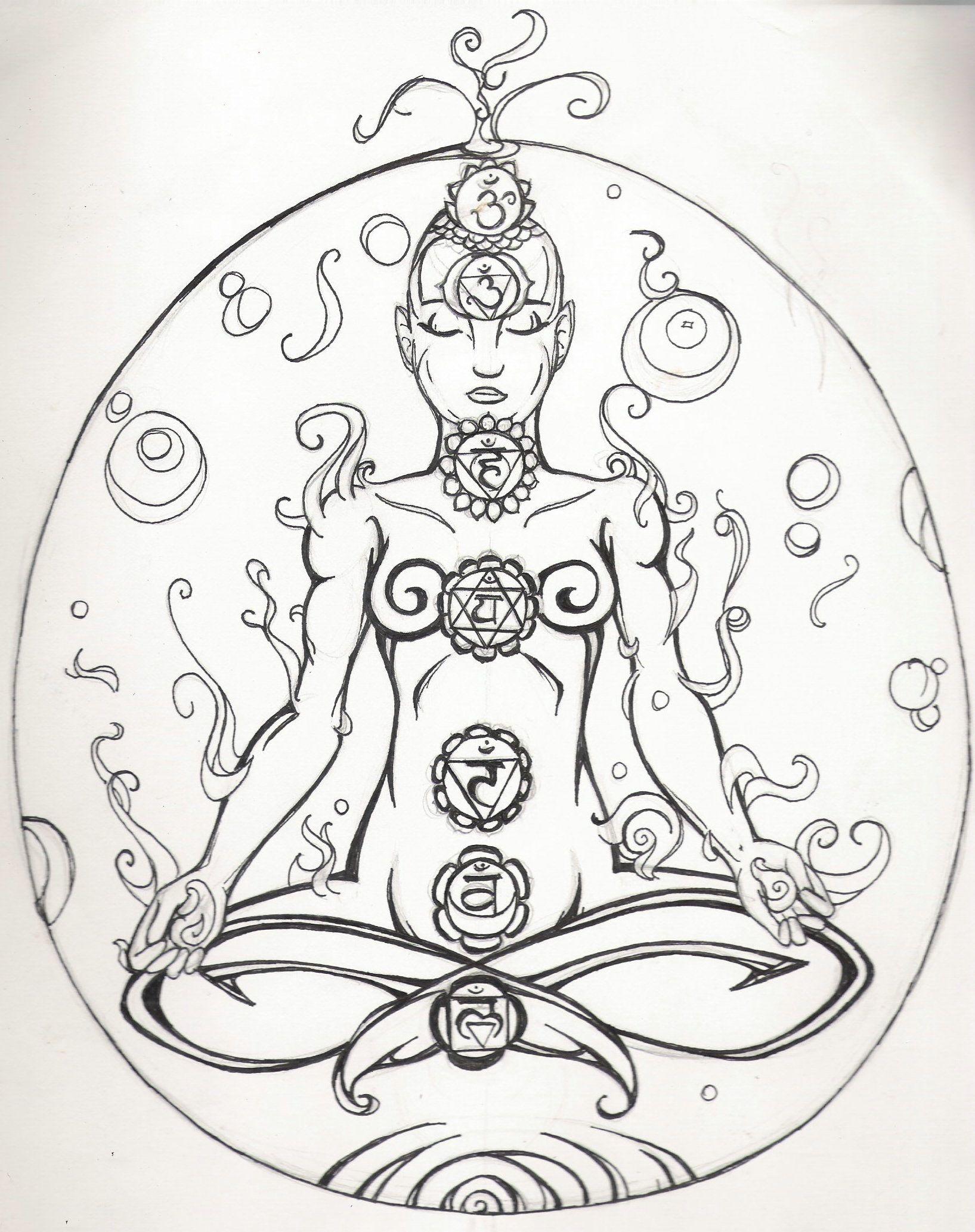 meditation Coloring Page Bing