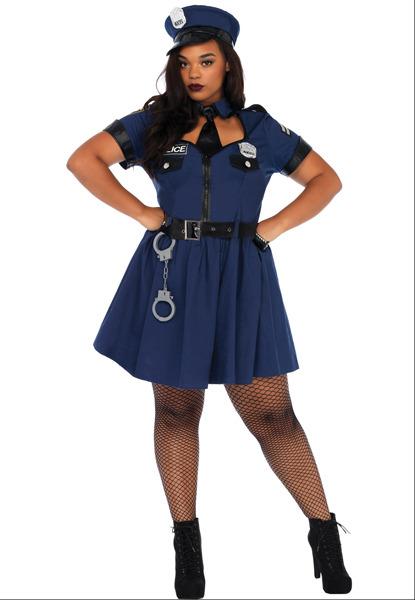 womenu0027s plus size flirty cop costume adult costumes