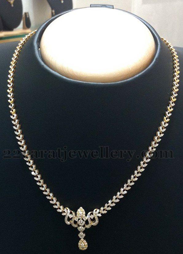 Very Simple Diamond Set by Nalli | Diamond, Jewel and Indian jewelry