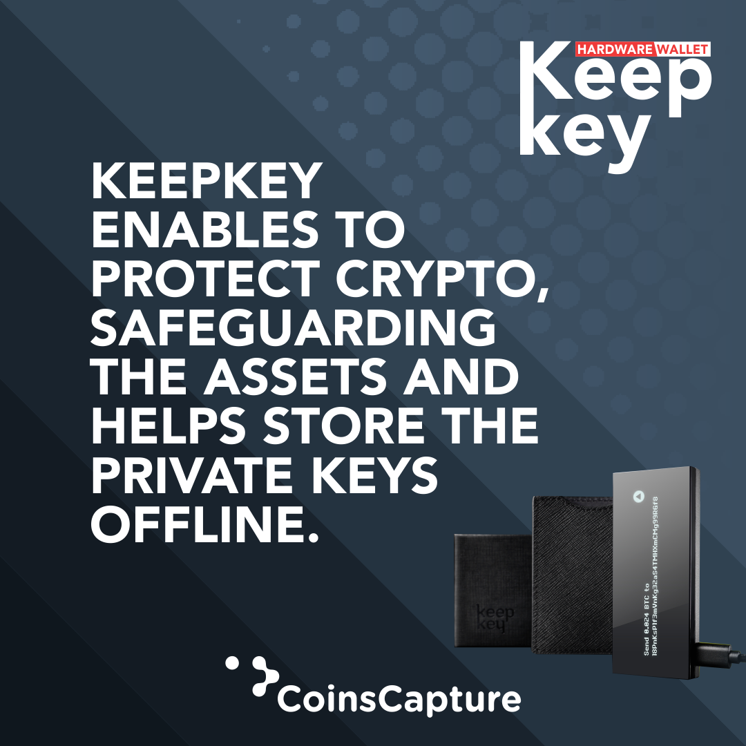 cryptocurrency to keepkey hardware wallet