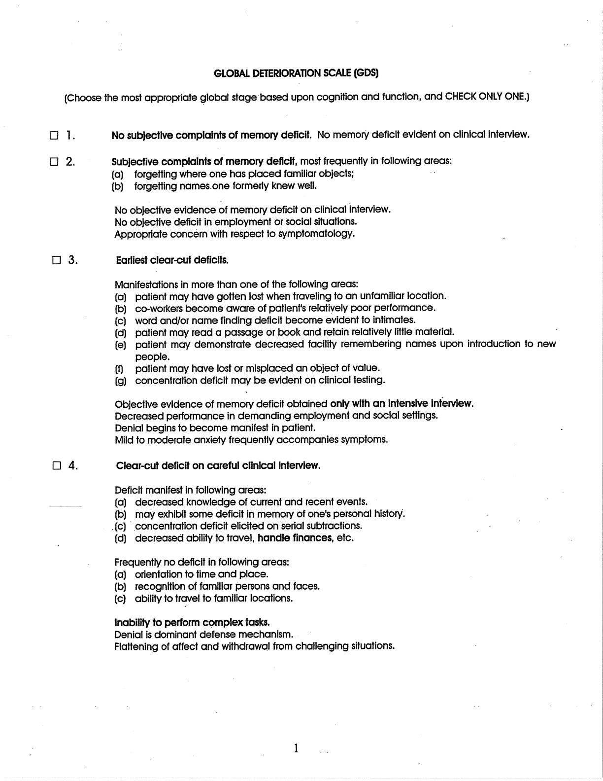 Worksheets Aphasia Therapy Worksheets global deterioration scale gds free screener slp pinterest activities