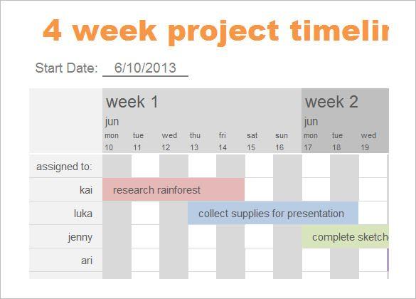 8+ Calendar Timeline Templates \u2013 Free Sample, Example, Format