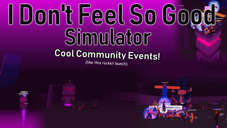 Good Simulator Games In Roblox 31 I Don T Feel So Good Simulator Double Points Roblox Feelings Simulation How Are You Feeling
