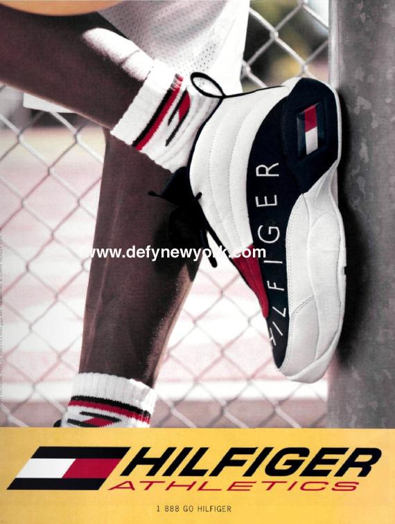 3f1db55c747a Tommy Hilfiger Athletics Skew Sneakers 1996
