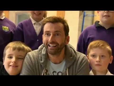 David Tennant surprises kids with special needs at the