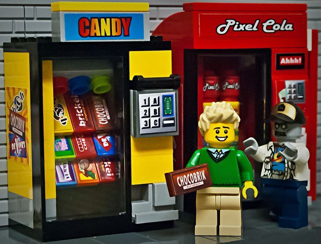 1000+ images about LEGO - Mini Shops, Vending Machines, Food ...