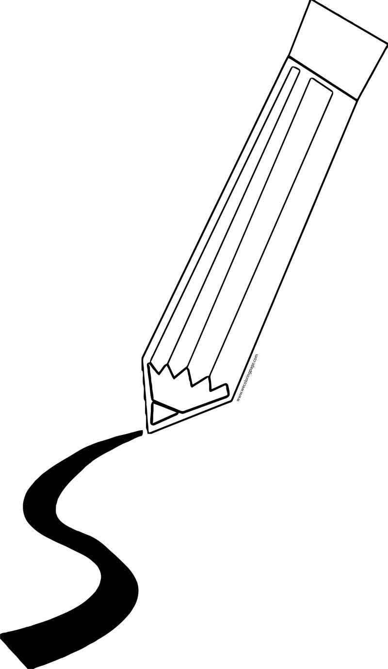 Pen Write Black Path Coloring Page Coloring Pages Free Printable Coloring Sheets Coloring Sheets For Kids