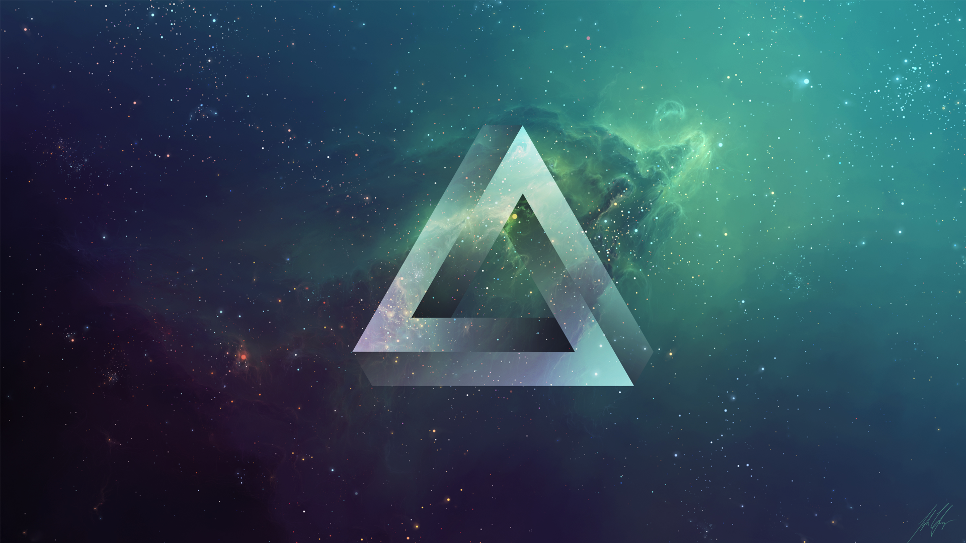 1920x1080 Impossible Triangle From Request Inspiration For Logo
