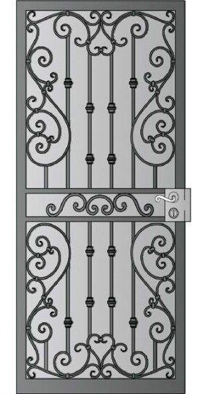 Iron Screen Door Wrought 37 Best Ideas Door Screen Iron Door