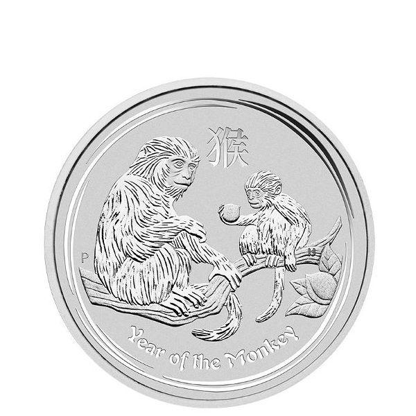 2016 1 2 Oz Australian Silver Lunar Monkey Coin Bu Buy Silver Coins Silver Coins Silver Coins For Sale