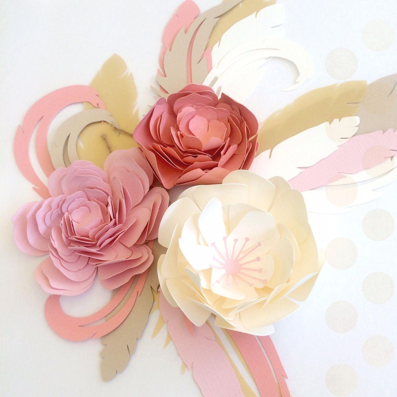 Large Paper Flower Backdrop Flowers Pinterest Flower Flower