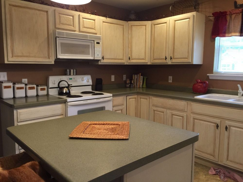 Kitchen Cabinets Makeover With Milk Paint