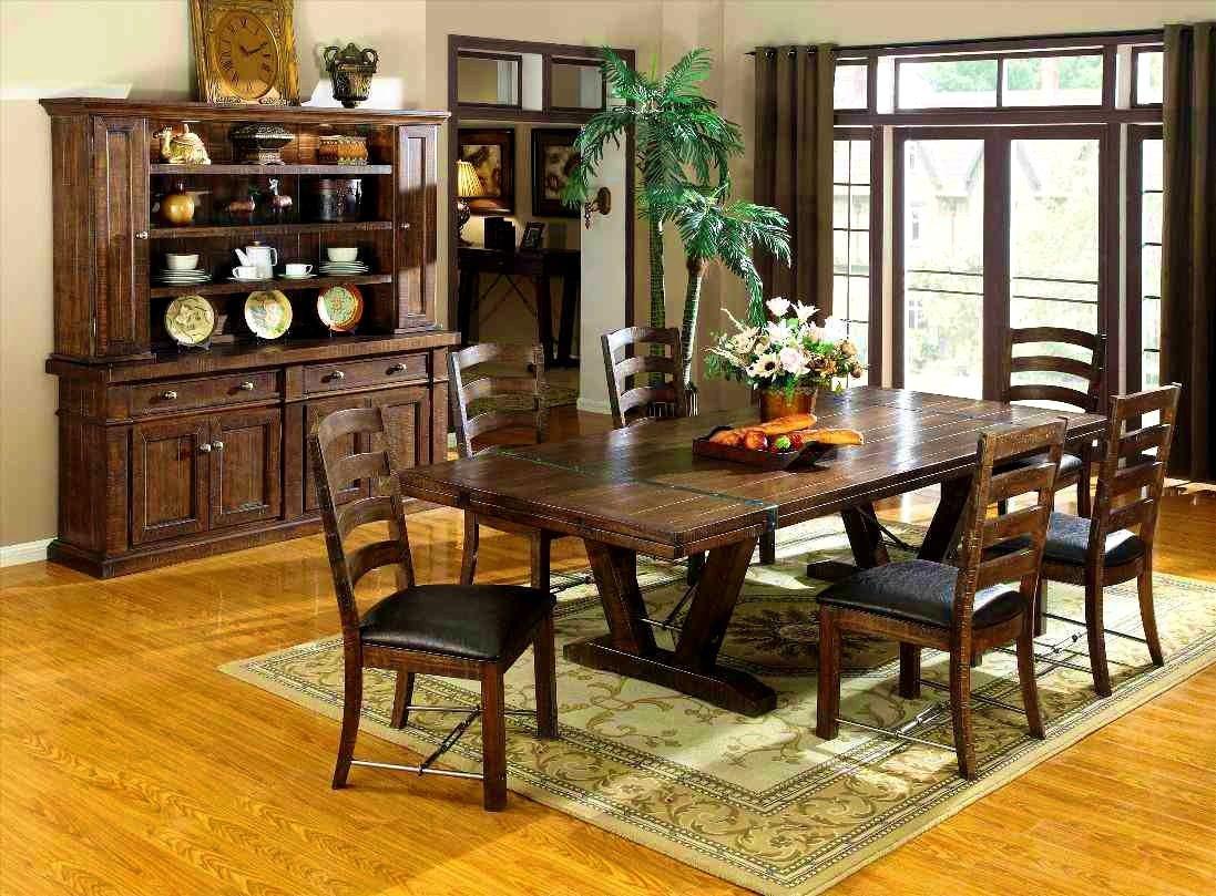 Furnitureoutstanding industrial rustic dining table set