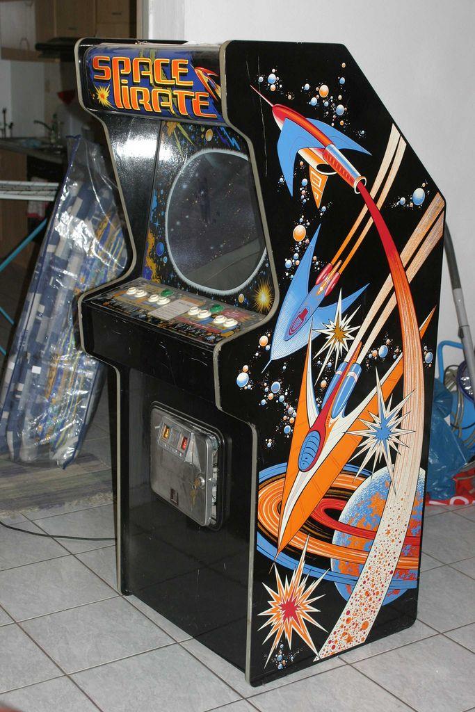 Space Pirate Arcade Game (1980) arcade retrogaming