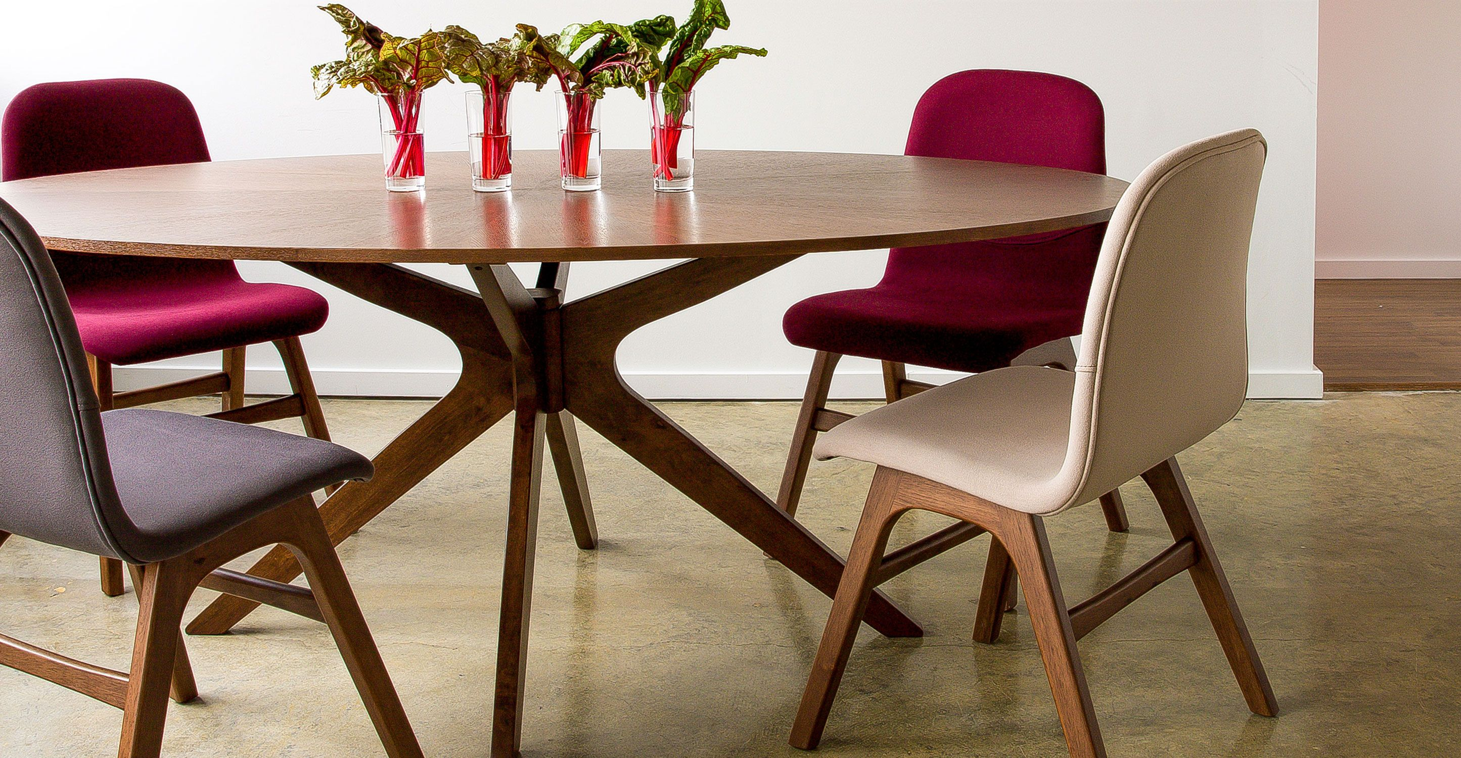 Conan Oval Dining Table Wood Tables Bryght Modern Mid Century And Scandinavian Furniture