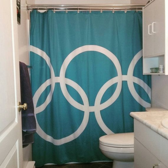 Vancouver 2010 Olympic shower curtain Shower by urchinbags | fun ...