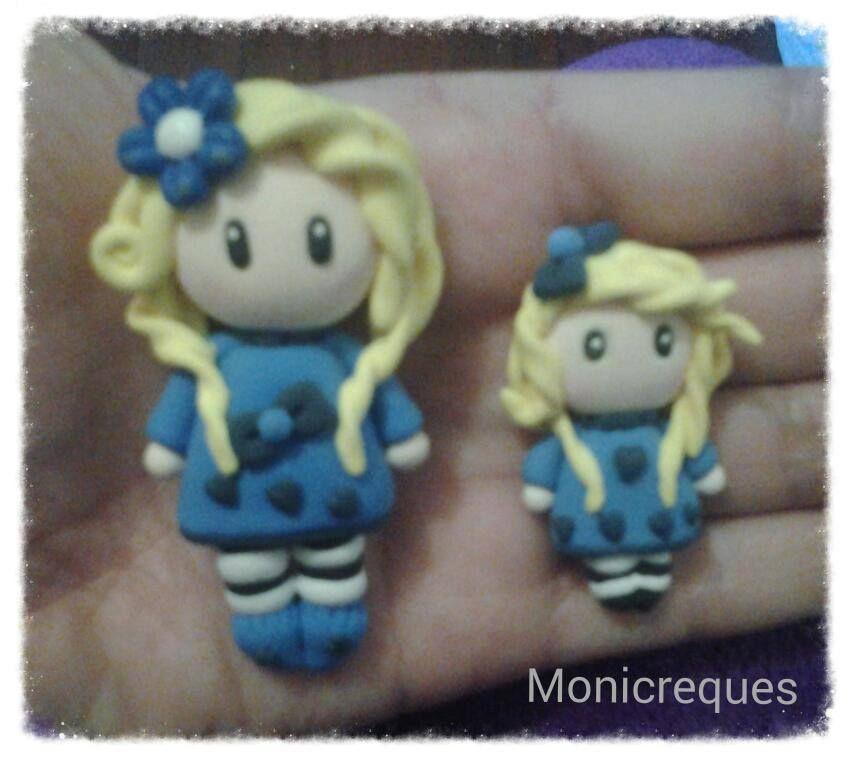 Muñeca maxi y mini