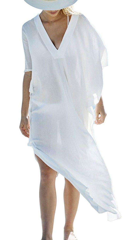 3741ba99ae La Blanca Island Fare Tunic Swim Cover Up | Cotton | Hand wash | Imported |  Deep v-neck, tunic, pullover, circle crochet border along necklin…