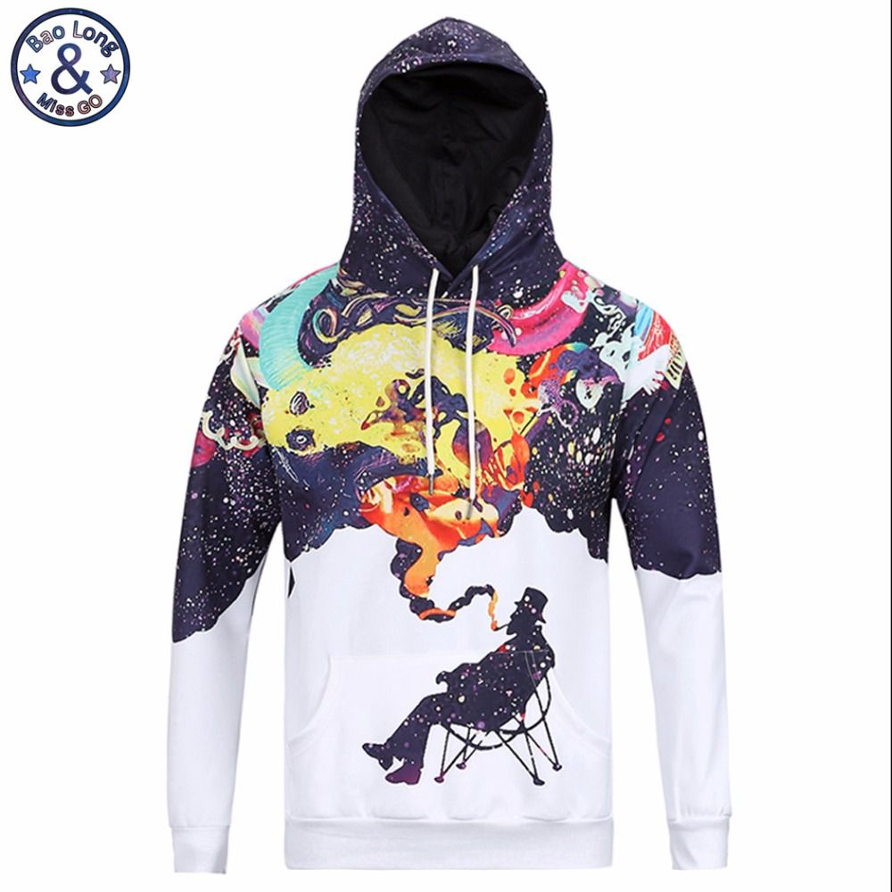Mr Baolong Very Cool Trend Fashion Youth Hooded Hoodies Men 3d Fummy Graffiti Painted Men S Harajuku Hooded Mens Sweatshirts Hoodie Hoodies Men Harajuku Hoodie [ 1000 x 1000 Pixel ]
