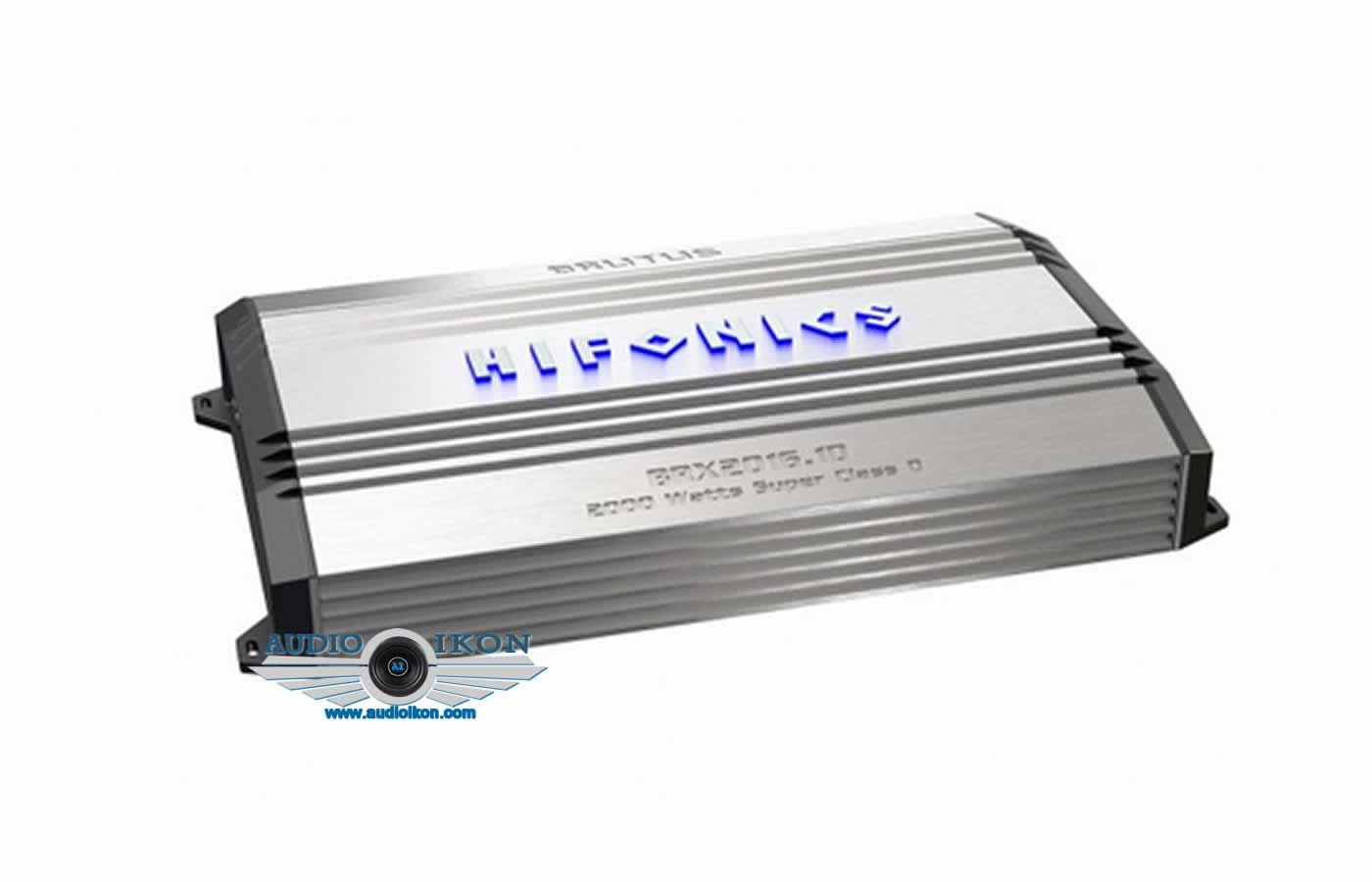 Hifonics Brutus Brx2016 1d 1ch Hifonics Car Amplifier Car Amp