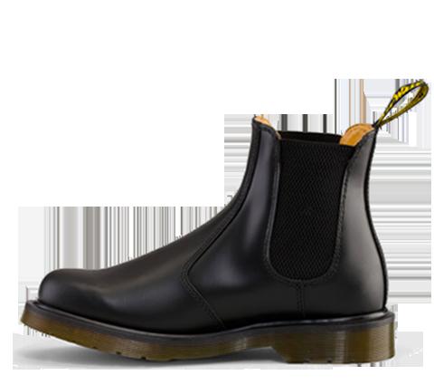 Dr. Martens Red Damen 2976 WZips Chelsea Boots, Blank