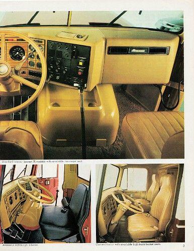 Chevy Bison Interior Big Trucks Semi Trucks Interior Big Chevy