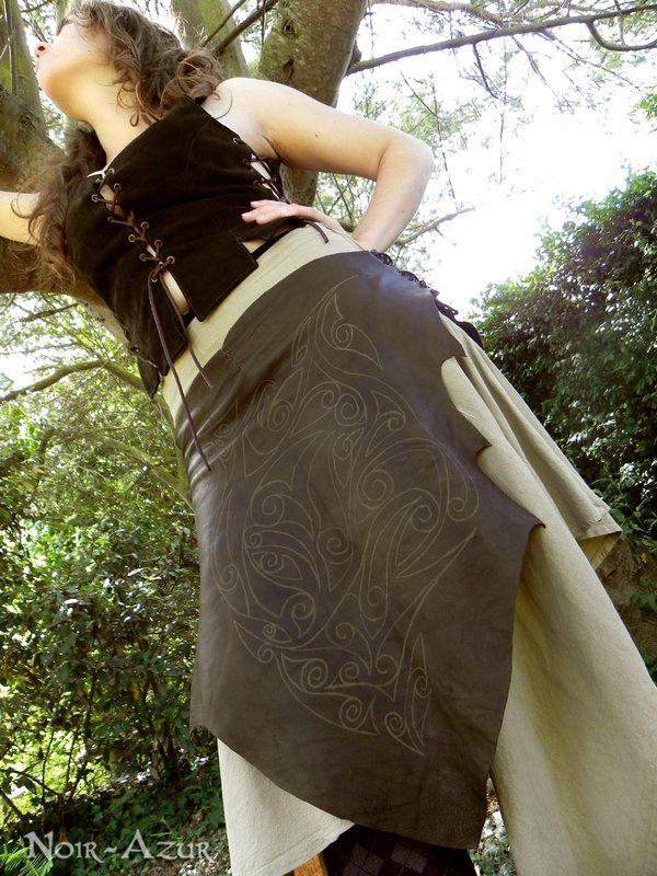 Simple tribal over-skirt 1 by ~Noir-Azur on deviantART ...