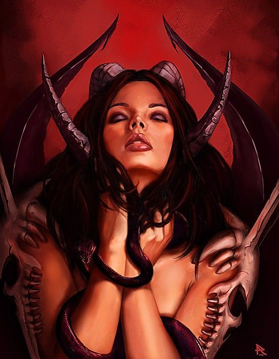 Hot Devil Girl