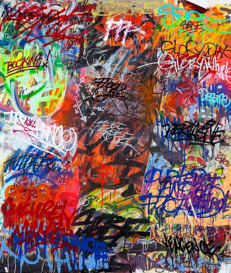 PAINTINGS '11'12 — Mint&Serf in 2020 Graffiti wallpaper