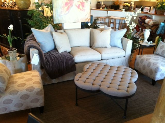 Gabbyu0027s Edward Ottoman, Cassandra Side Table, And Whitman Table Look  Beautiful In The Sophisticated Setting Of Woodstock Furnitureu0027s Store In  Meridian, ...