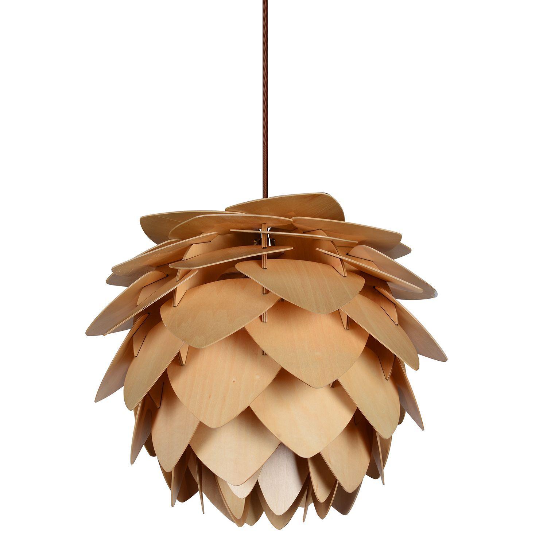 Design lampen klassiker  SuperStudio.de // Lampe OFFENE ANANAS Buchenholz // 180 ...