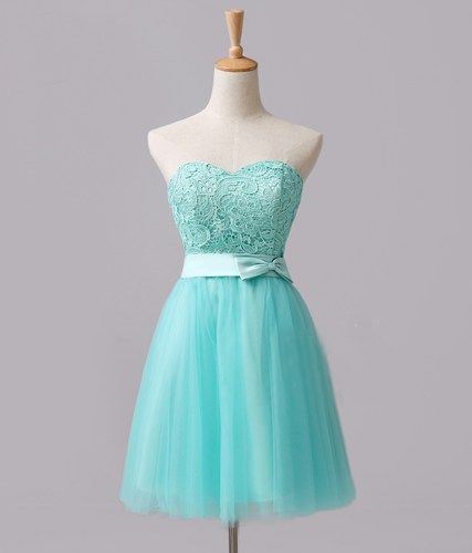 Tiffany Blue Party Dresses