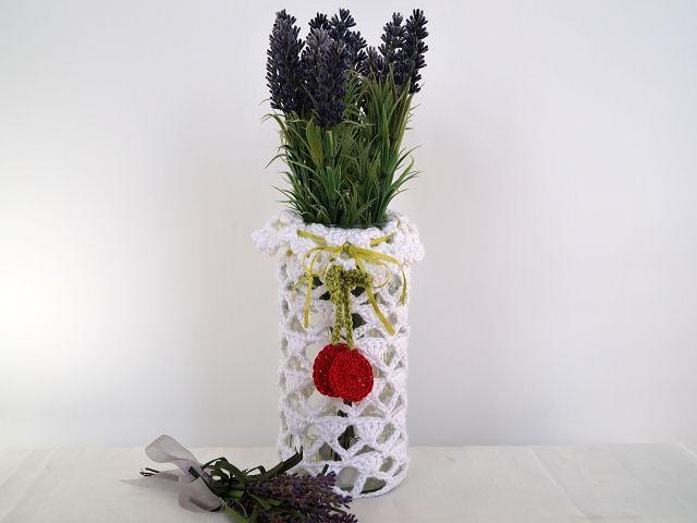 Braune Luxury Design - E-Book Häkelanleitung Sommertraum No.4 Mit dieser Anleitung können Sie sich ganz einfach eine einmalige Vase oder ein Windlicht für Ihre nächste Gartenparty herstellen.Ein ausgedientes Konservenglas oder eine in die Jahre gekommen Vase dienen als Grundlage,etwas weiße Baumwolle und ein paar Garnreste und es kann losgehen.Eine kreative Idee auch als nettes Mitbringsel ideal.