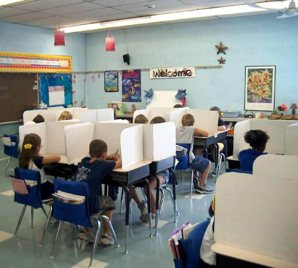 53 Best Classroom Privacy Shields (Study Carrels) images ...